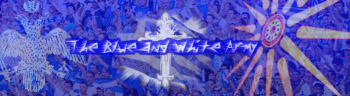 Blue and White Army